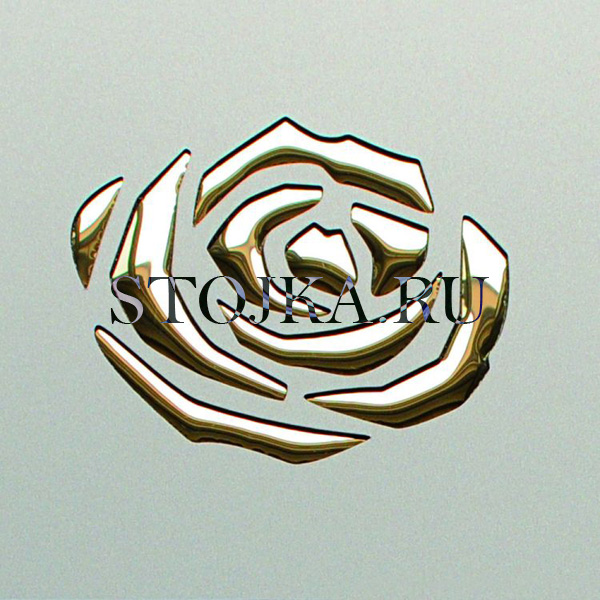 3D-ROSES-Champagne-PF-met/Gold